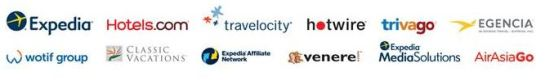 expedia-gruppe-logos