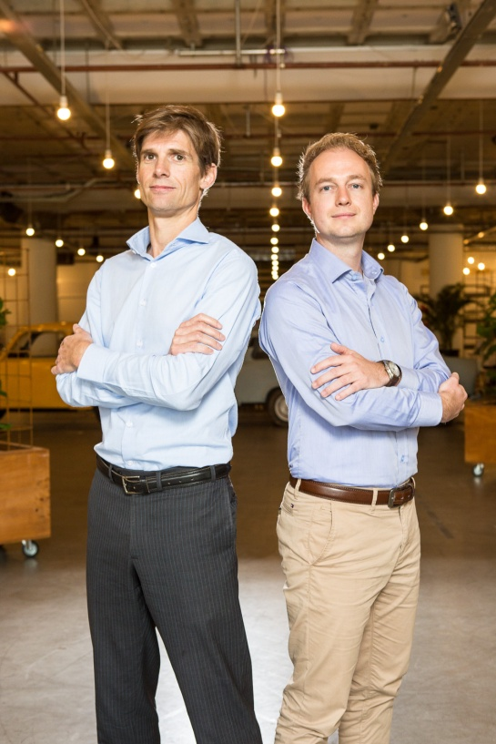 Hotelchamp Founders, Kristian Valk CEO and Kasper Middelkoop, CMO.